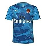 2017-2018 Arsenal Puma Training Jersey (Blue)
