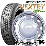 13インチ タイヤ&スチールホイール ブリヂストン(BRIDGESTONE) NEXTRY 155/65R13 ウェッズ