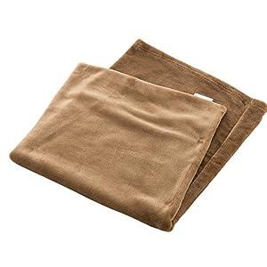 アイリスプラザ 枕カバー fondan ピローケース プレミアムマイクロファイバー とろけるような肌触り 静電気防止 洗える 高密度 品質保証書付き 90×43cm モカベージュ