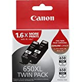 Canon PGI650XLBK-TWIN Black Twin Pack XL (2 x PGI650XLBK)