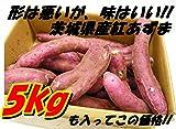 さつまいも(紅あずま) たっぷり5kg 訳アリ 海風を浴びたあま〜いおいも 茨城県産
