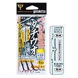 がまかつ(Gamakatsu) つらぬき太刀魚仕掛 TU145 3-49 ワイヤー#49