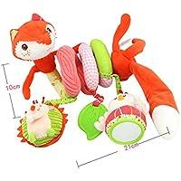 Hbos Stroller Toy Foxベッド吊り下げおもちゃ、Spiral Activity Toy Swings、ベビーシートハンドル、ショッピングカートfandles、ベビーカー、Spiral Activity Toys , Fox