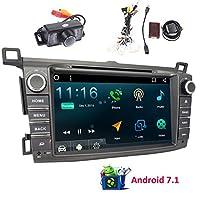 アンドロイド7.1ダブルディンヘッドユニットのカーステレオは、ミラーリングナビゲーションマルチタッチスクリーンのサポート画面をGPSのBluetooth Autoradio DVD CDプレーヤー、FM/AMレシーバーWIFI DVR 3G / 4G USBのSDカメラとCANバスカムイン