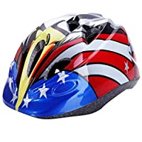 Dostar Kids Bike Helmet ? Adjustable Helmet Cycling Scooter Multi-sport Durable Kid Bicycle Helmets Boys and Girls will LOVE - CSPC Certified for Safety and Comfort (Black -Eagle) [並行輸入品]