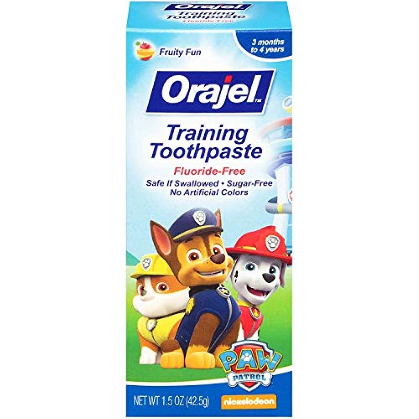 朝食を食べる人差し指信じられないOrajel Todlr Tpの混合のFRUサイズ1.5Oz Todlr Tpのミックスフルーツ1.5Oz 5パック