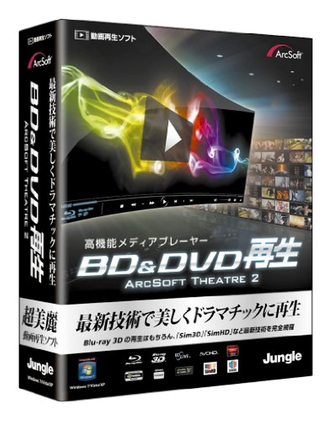 さわやか食用中央BD&DVD 再生 ArcSoft Theatre 2