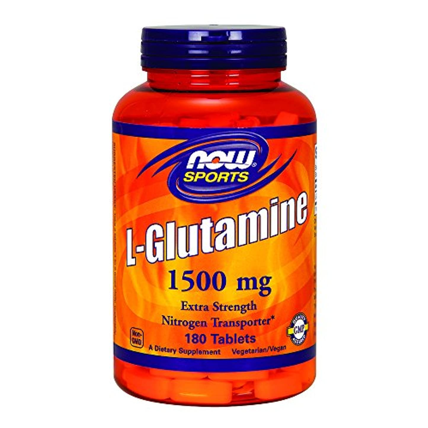 低いパドルすごい[海外直送品] ナウフーズ  - Lグルタミン 1500 mg。180錠剤