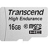 Transcend 高耐久 microSDHCカード MLCフラッシュ搭載 ( ドライブレコーダー向けメモリ ) 16GB Class10 2年保証TS16GUSDHC10V