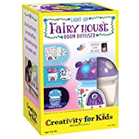 Creativity for Kids Light-Up Fairy House Room Diffuser - Essential Oil Diffuser for Kids