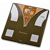 TANITA 内臓脂肪チェック付き体脂肪計 メタボスキャン チョコレート TF-204-CH