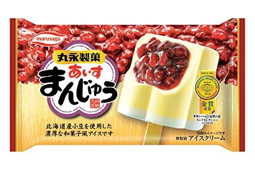 丸永製菓 あいすまんじゅう 100ml[冷凍]
