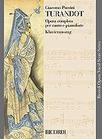 RICORDI PUCCINI G. - TURANDOT TESTO ITALIANO TEDESCO - CHANT ET PIANO Partition classique Vocale - chorale Voix solo, piano