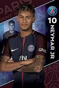 Paris Saint Germain F.C. Poster Neymar 10 / パリ サンジェルマン F.C. ポスター ネイマール 10