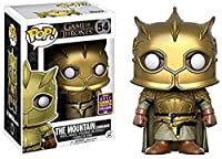 SDCC 2017 Exclusive Game of Thrones The Mountain Armoured POP Vinyl Figure