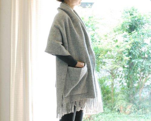 KLIPPAN クリッパン ウール ストール コレクション eco wool [ ベーシックウール / ライトグレー ]