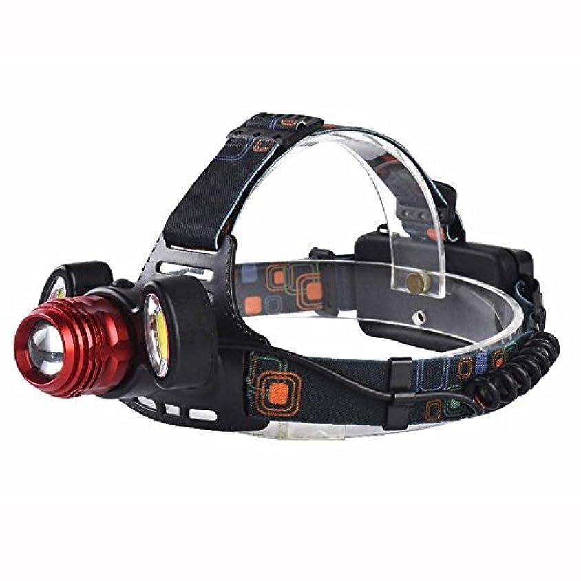 殺人巨大五月XIAOBUDIAN 明るいUSB LEDヘッドランプT6 LED + 2 ソーラーライトヘッドライト4モード18650サイクリングヘッドライト充電式ズームヘッドランプD17 (サイズ さいず : A)