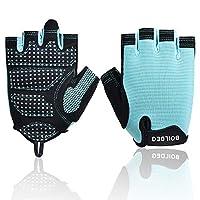 Hardy サイクリンググローブ 夏 3D 立体 サイクルグローブ 自転車 手袋 衝撃吸収 耐磨耗性 換気性 通気性 速乾性 滑り止め付き 5色 男女兼用 (Color : 青, Size : S)