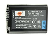 DSTEアクセサリ NP-FW50 互換 カメラ バッテリー 対応機種 Alpha 7 7R II 7S a7 a7R a7S a7R II Alpha a3000 a5100 a6000 NEX-3 NEX-5 NEX-6 NEX-7 SLT-A37 DSC-RX10 II