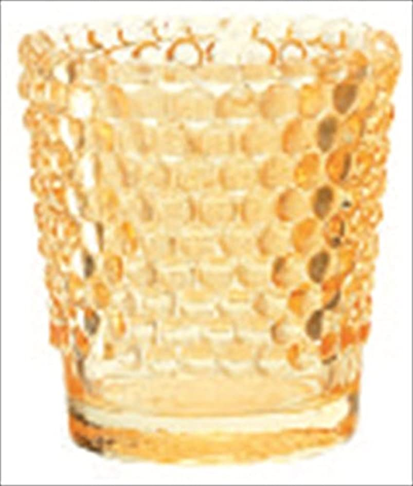 カメヤマキャンドル( kameyama candle ) ホビネルグラス 「 アンバー 」