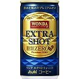アサヒ 飲料 WANDA ワンダ エクストラショット 缶 185g缶×30本入3ケース