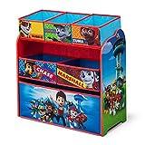 Delta Children Multi Bin Toy Organizer, Nick Jr. PAW Patrol by Delta Children [並行輸入品]