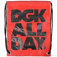 DGKスケートボードバックパックCinchバッグAll Dayレッド