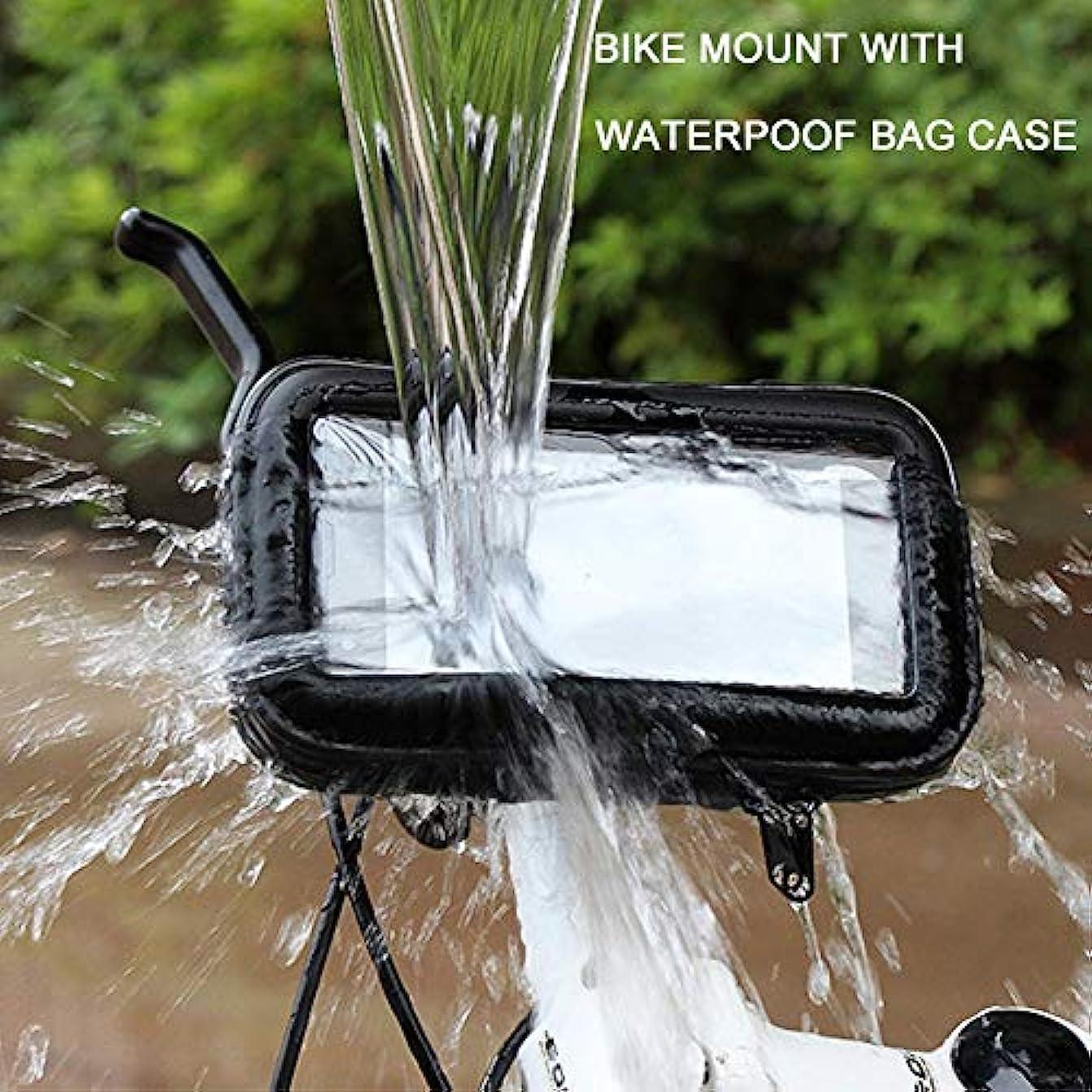 六分儀無視筋肉のWW 自転車とオートバイの携帯電話ホルダー防水自転車携帯電話シェルバッグ