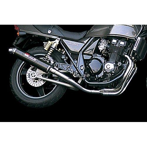 ヨシムラ(YOSHIMURA) バイクマフラー フルエキゾースト 機械曲 チタン サイクロン ファイヤースペック TC カーボンカバー ZRX400(94-08) ZRX400-2(94-08) 110-232F8294 バイク オートバイ