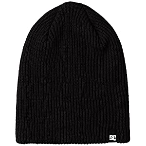 [ディーシー]CLAP ニット帽子 メンズ BLK US F (FREE サイズ)