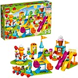 LEGO Duplo Town Big Fair 10840 Role Play and Learning Building Blocks Set for Toddlers Including a Ferris Wheel, Carousel, and Amusement Park (106 pieces) (Amazon Exclusive)