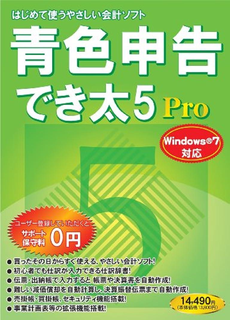 に負けるコンテンポラリー青色申告でき太 5 Pro