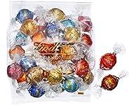 【公式】リンツ (Lindt) チョコレート リンドール 10種類アソート 詰め合わせ [Aタイプ] 個包装 30個入り (ミニリーフレット付き)