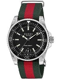 [グッチ]GUCCI 腕時計 DIVE ブラック文字盤 YA136206 メンズ 【並行輸入品】