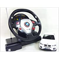 GK◇BMW X6◇正規認証車ハンドルステアリングコントローラー1/24ラジコンカー/ホワイト
