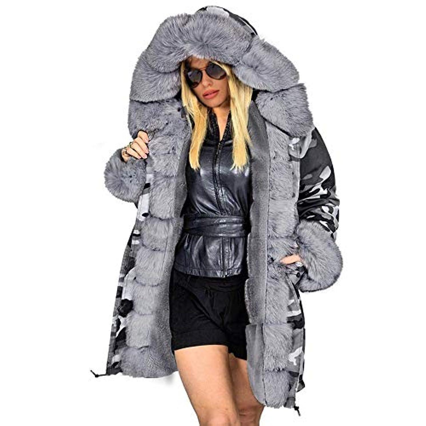 委員会勝者発明するファッションコートウィンタージャケット女性フードパーカーロングウォームコットンジャケットアウターウェア女性ウィンターコートプラスサイズ,XXXL