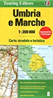 Umbria e Marche: TCI.R08 (Regional Road Map)