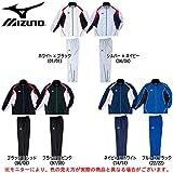 MIZUNO(ミズノ) ウォーマー 上下セット 【男女兼用】 (A60JF290/A60JP190) (M, ブラック×ピンク(97/99))