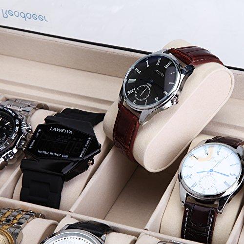 Reodoeer 腕時計収納ケース 腕時計収納ボックス コレクションケース 12本用