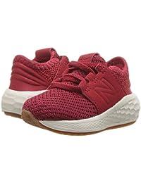 [new balance(ニューバランス)] キッズサンダル?靴 KVCRZv2I Nubuck (Infant/Toddler) Mercury Red/Chilli Pepper 2 Infant (9.5cm) M