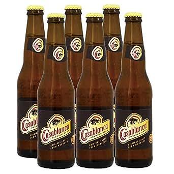 モロッコお土産 カサブランカビール 6本セット: 食品・飲料・お酒