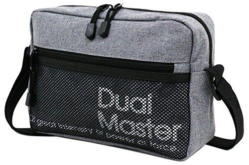 DualMaster(デュアルマスター)ショルダーバッグメッセンジャーミディアムグレーFree