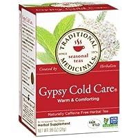 ジプシーコールドケア ティー 16袋入 |Traditional Medicinal(トラディショナル・メディシナル)ジプシーの伝統的なハーブティー