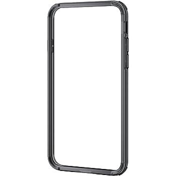 3b2955cbc3 エレコム iPhone8 ケース カバー バンパー ハイブリッド素材 対衝撃×透明 iPhone7 対応 ブラック PM-A17MHVBBK
