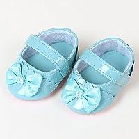 マザーガーデン Mother garden うさももドール 着せ替え人形 靴 シューズ 水色 Mサイズ用