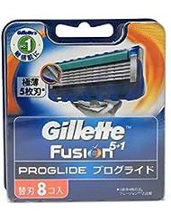 [セット品] ジレット フュージョン5+1 プログライド 替刃 8コ入り × 1P × と SHOWルイボスティー1袋