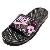 (ナイキ) ベナッシ JDI プリント レディース サンダル シューズ Nike Benassi JDI Print 618919-009 [並行輸入品], 24 CM (US Size 7)