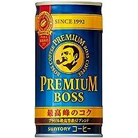 サントリー コーヒー プレミアムボス 185g缶×30本