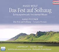 WOLF: The Feast at Solhaug PFITZNER: Preludes (SACD) by G?nter Lamprecht (2008-12-15)