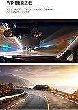 MUSON(ムソン) ドライブレコーダー NOTE5 ドラレコ 前後カメラ 1080PフルHD高画質 170度広角 2カメラ G-センサー WDR 4.0インチ画面 衝撃録画 駐車監視 車レコーダー 動体検知 信号対応 日本語取り扱い書 車載カメラ リアカメラ付 デュアルドライブレコーダー 画像